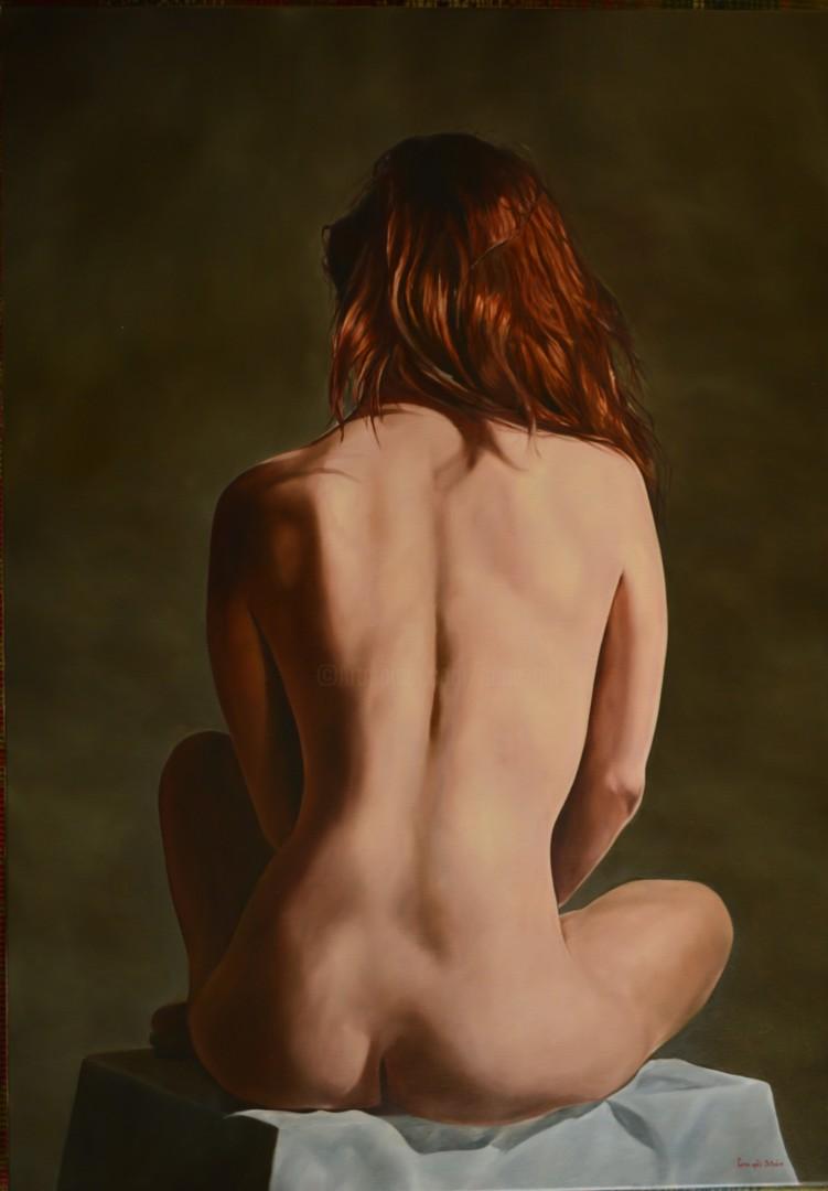 Istvan Cene Gal - Nude from behind