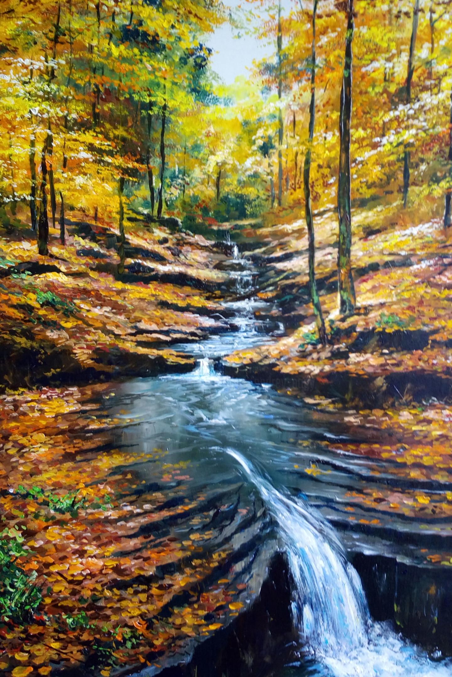 Attila Endrey-Nagy - Quiet autumn day /Une journée d'automne tranquille