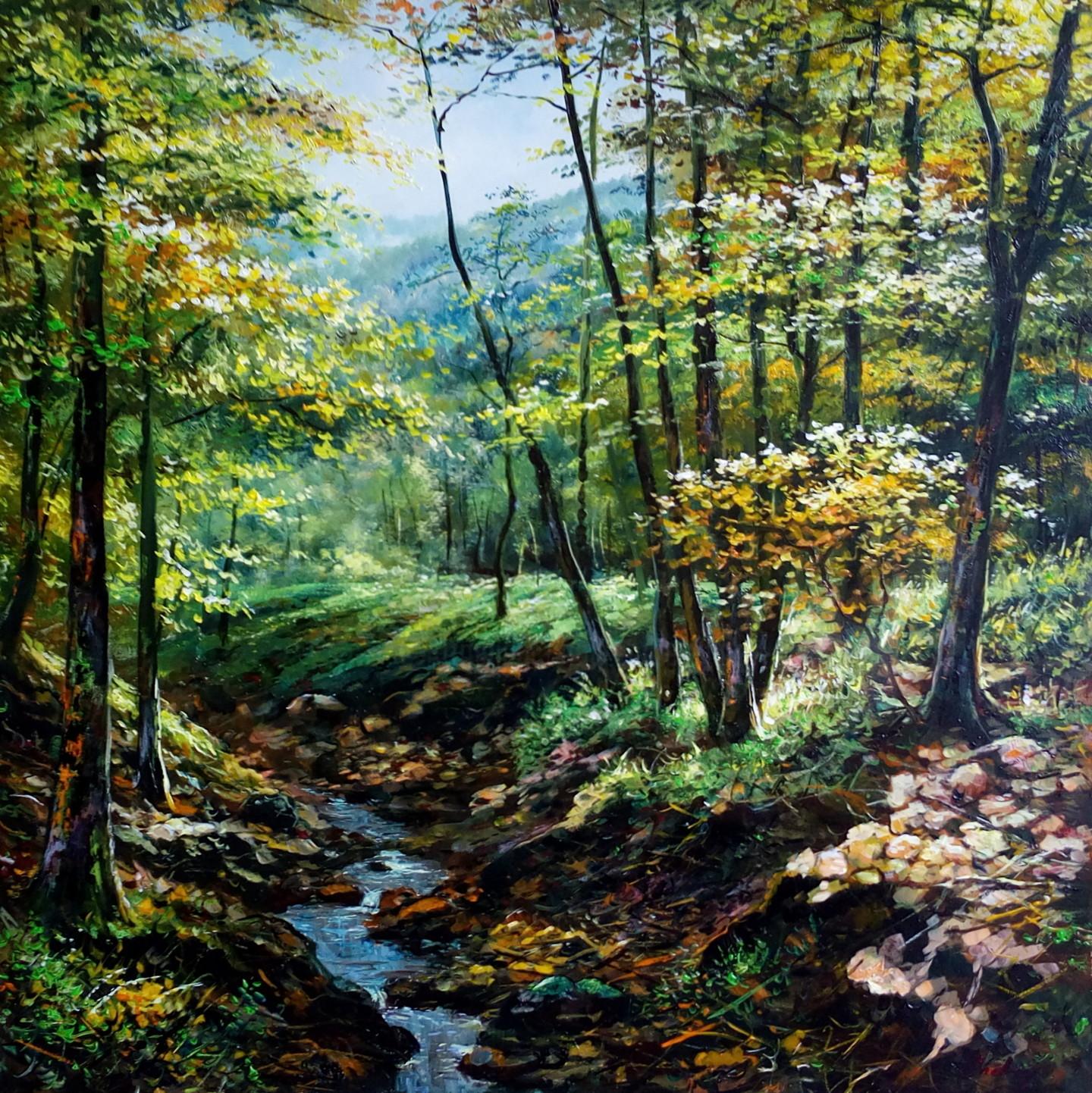 Attila Endrey-Nagy - Summer day in the forest/ Jour d'été dans la forêt