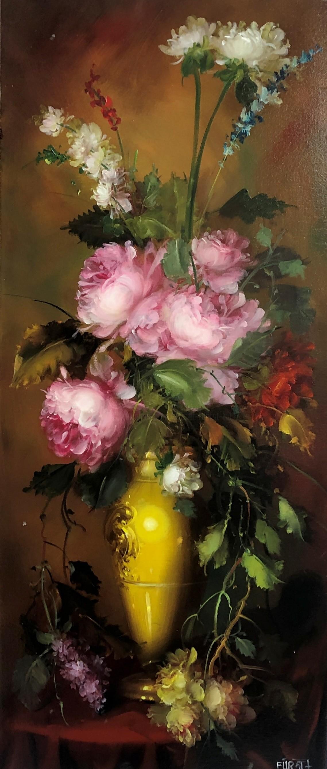 József Fürst - Summer bouquet (Artwork to order)