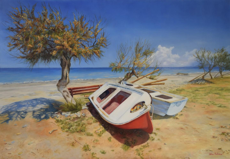 Silvia Habanova - Peace on the beach