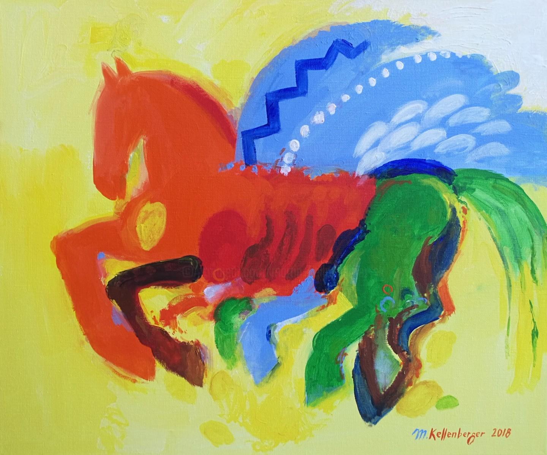 Martin Kellenberger - Pegasus for Vincent (van Gogh)