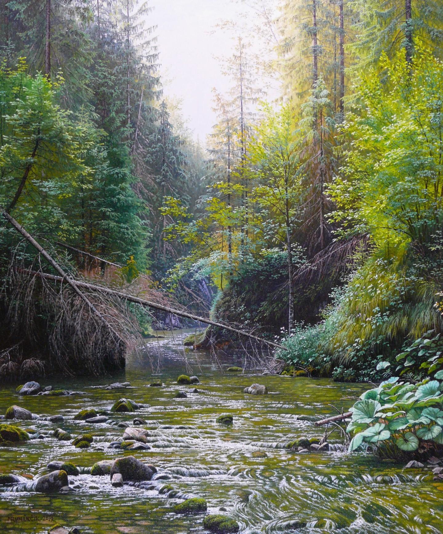 Emil Mlynarcik - Deep in the mysterious forest