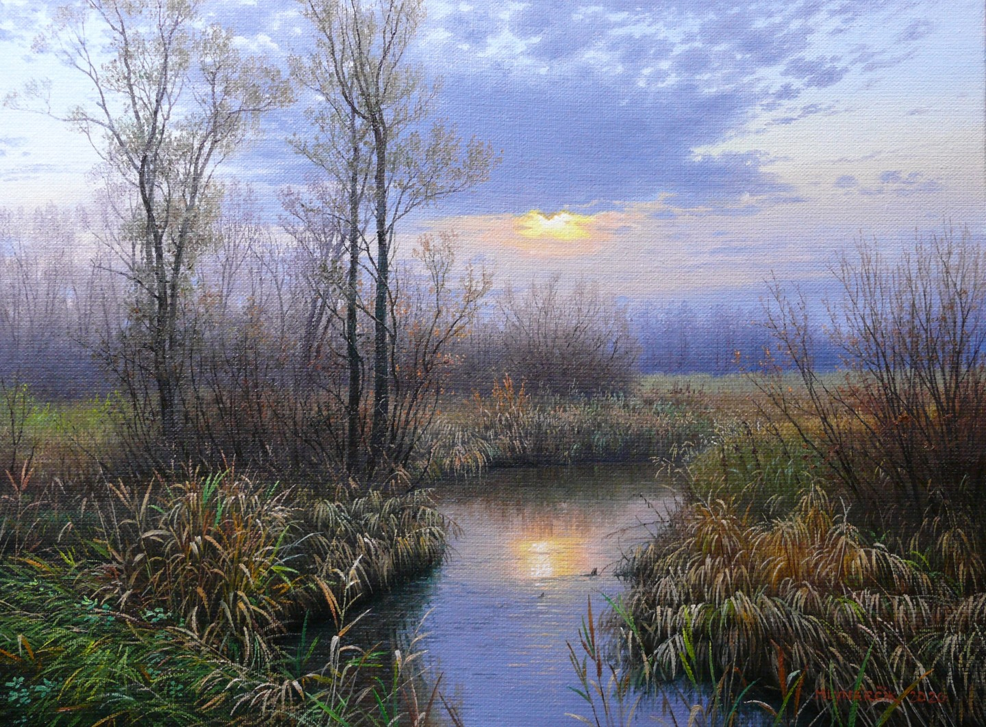 Emil Mlynarcik - Autumn sunset