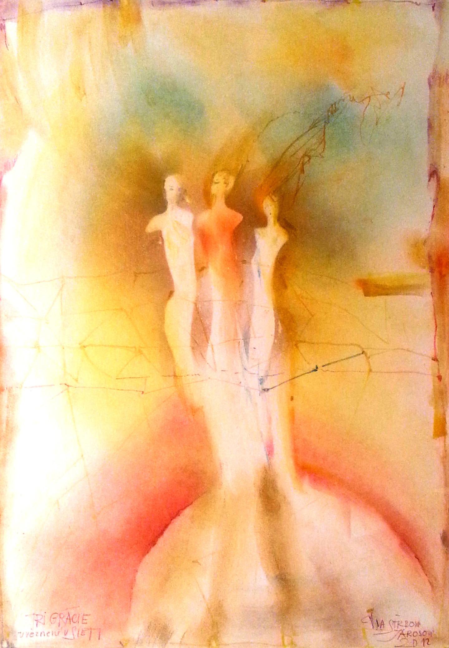 Iva Strbova Jarosova - Three Graces