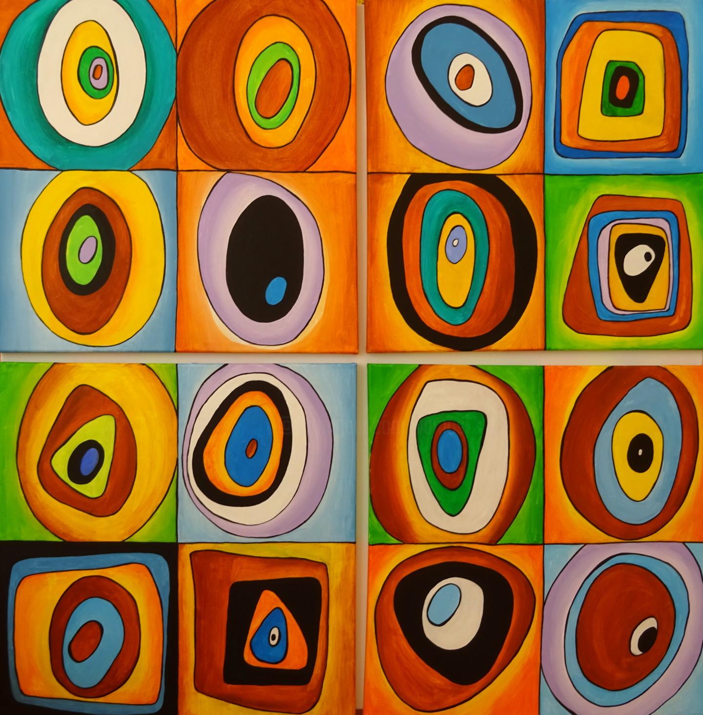 Peter Vamosi - Mosaic of colors