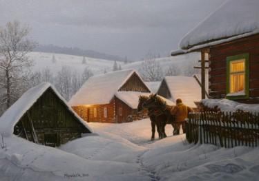 Winter morning / Matin d'hiver