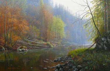 Autumn at river