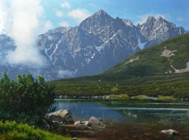 Mountain lake in Hight Tatras
