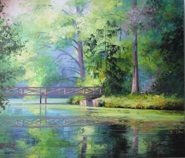 Romantic pond