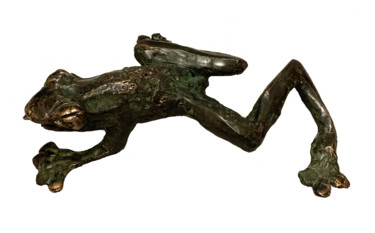 Slithering frog